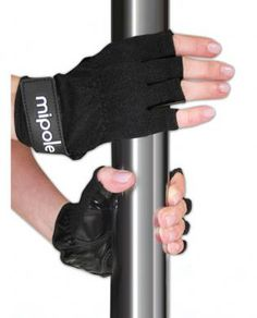 Introducing the new MiPole dance pole glove! Our tack glove is designed to give you a firm grip while spinning and performing tricks on your dance pole. Perfect for all skill levels!