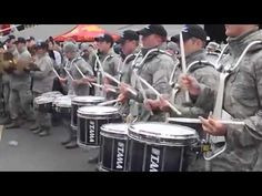 Air Force Drum Line Battle (Part Girl Drummer, Scottish Bands, Drumline, Army & Navy, Marine Corps, Marines, Drums, Air Force, Music Videos