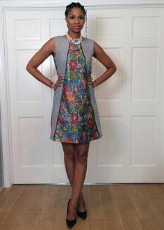 Tea Dress Elegant Outfit, Beautiful Dresses, High Neck Dress, Tea, Summer Dresses, Shorts, House, Clothes, Collection