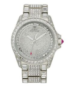 Juicy Couture Watch, Women's Stella Stainless Steel Bracelet 40mm 1901039