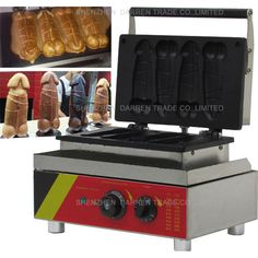 216.25$  Watch here - http://alinot.worldwells.pw/go.php?t=32687641235 - 1pc NP-520 110v/ 220v Electric Hot Dog Penis Waffle Maker Machine Baker Iron 216.25$