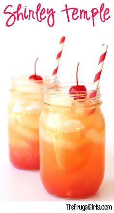 Shirley Temple Recipe - TheFrugalGirls.com