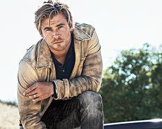 Chris Hemsworth photographed by Sebastian Kim for GQ Magazine,...