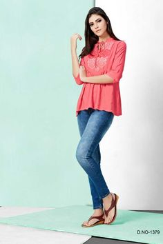 Latest Top Designs, Latest Tops, College Wear, College Outfits, Fancy Tops, Stylish Tops, Office Wear, Party Wear, Kurti