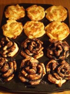 Rózsakalács Muffin, Breakfast, Food, Morning Coffee, Essen, Muffins, Meals, Cupcakes, Yemek