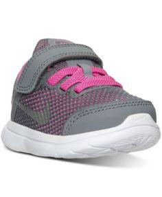 Nike Toddler Girls' Flex 2016 RN Velcro® Running Sneakers from Finish Line  - Finish