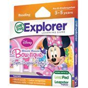 LeapFrog Explorer Disney Minnie's Bow-tique Super Surprise Party Learning Game