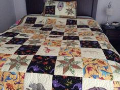 For my grandson Quilts, Blanket, Bed, Projects, Home, Log Projects, Comforters, Blankets, Stream Bed