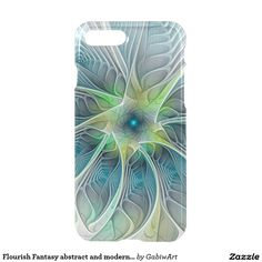 Flourish Fantasy abstract and modern Fractal Art iPhone 7 Plus Case