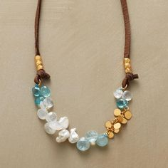 Bubbling Brook Necklace from Sundance on shop.CatalogSpree.com, your personal digital mall.