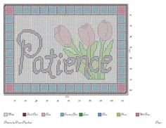 PATIENCE by TRICIA*PIGSNKISES -- WALL HANGING