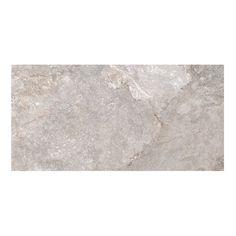 Piso cerámico con tecnología digital tipología piedra en acabado mate color Gris en medida 45x90 cm incluye 1.22 m2 (3 piezas). Recomendado para uso en interior y exterior instalar con boquilla mínima de 4 mm.