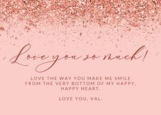 Glitter Abstract - Love Card #greetingcards #printable #diy #Love #romance #emotion #passion Love Days, Happy Heart, Thoughts And Feelings, Printable Cards, Text Messages, Make Me Smile, Create Yourself, Greeting Cards, Love You