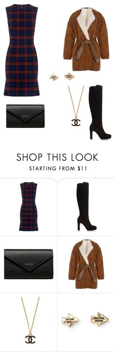"""""""Fancy restaurant"""" by hibaalichemist ❤ liked on Polyvore featuring 10 Crosby Derek Lam, Dune, Balenciaga, Joseph and Aéropostale"""