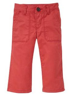 Red chino pants | Gap :: If it's a BOY