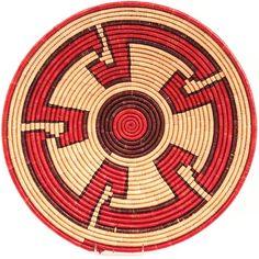 Baskets of peace, hope and strength by Nubian weavers in Darfur, Sudan.
