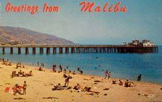 Surfriders Beach,Malibu Pier,Malibu,California.
