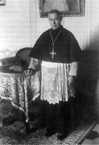 Monsignor Giuseppe Nicolini - Sheltered Jews during the Holocaust. Assisi had no Jewish community.