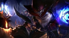 Download Master Arcanist Ziggs Skin Splash Art 1920x1080