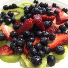 Judy's fresh fruit plate