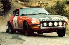 Datsun 240Z Rally