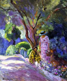 Picking Flowers Henri Lebasque - 1923