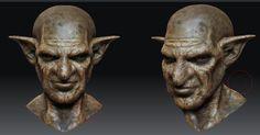 goblin digital sculpture
