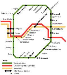 Yamanote Line | JapanVisitor