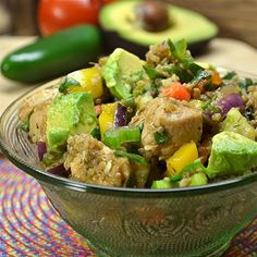 "Mexican Chicken Quinoa Salad I ""Healthy, easy, tasty.... What more could we ask for?"""