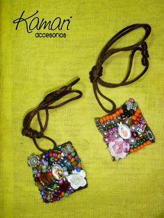 pulseras de escapularios | Fotos de Divinos Escapularios $70 Guadalajara Textile Jewelry, Fabric Jewelry, Jewelry Art, Beaded Jewelry, Textile Art, Medicine Bag, Crafts For Seniors, Fabric Beads, Beading Projects