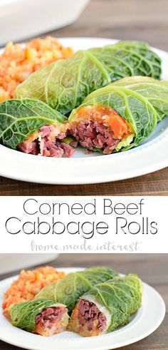 10 Most Misleading Foods That We Imagined Were Being Nutritious! Corned Beef Cabbage Rolls You Dont Get Any More Irish Than A Corned Beef And Cabbage Recipe This St. Patricks Day Recipe For Corned Beef Cabbage Rolls Stuffed With Parsnip And Carrot Mash Is Corned Beef Brisket, Corned Beef Recipes, Corn Beef And Cabbage, Cabbage Rolls, Cabbage Recipes, St Patricks Day Essen, St Patricks Day Food, Cornbeef And Cabbage Recipe, Easy Irish Recipes
