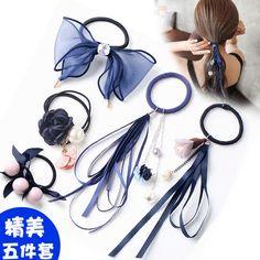 (99) Одноклассники Diy Hair Scrunchies, Diy Hair Bows, Ribbon Hair, Ribbon Bows, Making Hair Bows, Diy Bow, Elastic Hair Bands, Diy Hair Accessories, Hair Jewelry