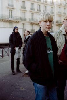 Street Style. Paris. Photography by Yu Fujiwara.  menswear mnswr mens style mens fashion fashion style streetstyle