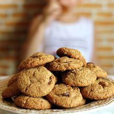 Lanche/Doce - Cookies de pasta de amendoim