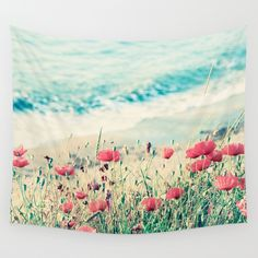 Sea+of+Poppies+Wall+Tapestry+by+Paula+Belle+Flores+-+$39.00