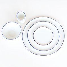Abbesses Polished Ceramic Dinnerware