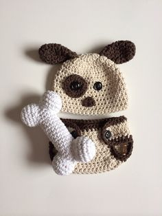 Hey, I found this really awesome Etsy listing at https://www.etsy.com/listing/181222621/newborn-puppy-hat-and-diaper-cover