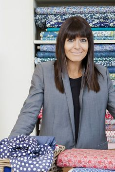 Claudia Winkleman (presenter)    The Great British Sewing Bee series two 2014 #sewing #craft #cloth-ears #sew #makedoandmend #bbc #GBSB