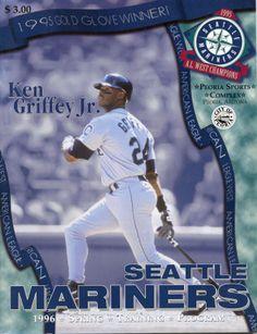 Ken Griffey Jr., #Mariners Spring Training Program (1996)