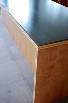Steel Countertops