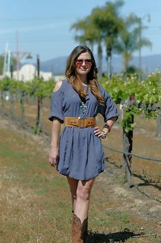 """California Cowgirl"" Dress"