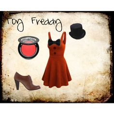 """""""Toy Freddy FNAF2"""" by accillia on Polyvore"""