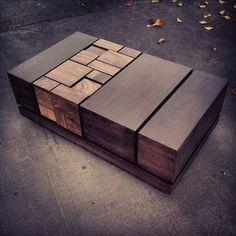 Abaci: Walnut Coffee #Table #design #furniture
