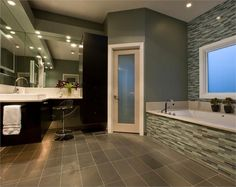 Gray Matters: 9 Ways to Decorate with the Hue - Try It on Tile on HomePortfolio