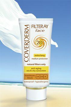 Coverderm Filteray Face SPF 20/40/60/80