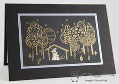 The Crafty Owl's Blog | Sneak Peek - The Newborn King Christmas Card for Merry Monday - Details in the post