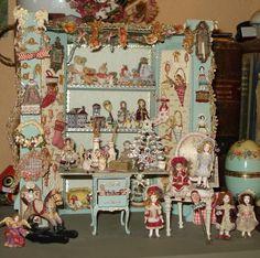 almudena gonzalez dolls | Miniaturas de Almudena González.
