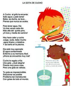 poesia el agua educacion infantil - Buscar con Google