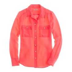 Silk Staple - i want every color of this j.crew classic