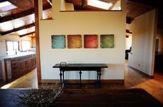 I like these paintings that PW has in her Lodge.  Can't find the info about them though...